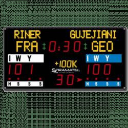afficheur de score de judo