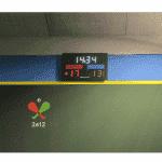Afficheur de score pelote basque