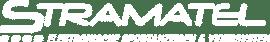 Logo Stramatel blanc allemand