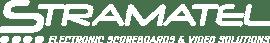 Logo Stramatel blanc anglais