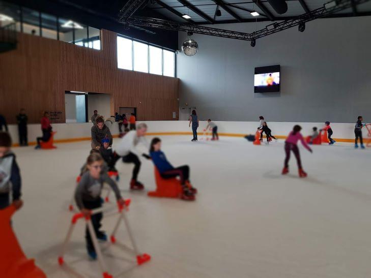 ecrans videos led pour la patinoire glaceo de louviers