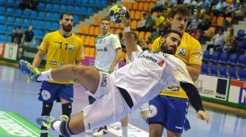 Joueur de handball stramatel