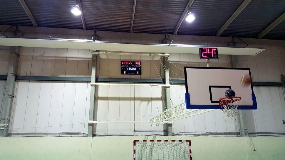tableau affichage de score et paire d afficheurs de temps d attaque