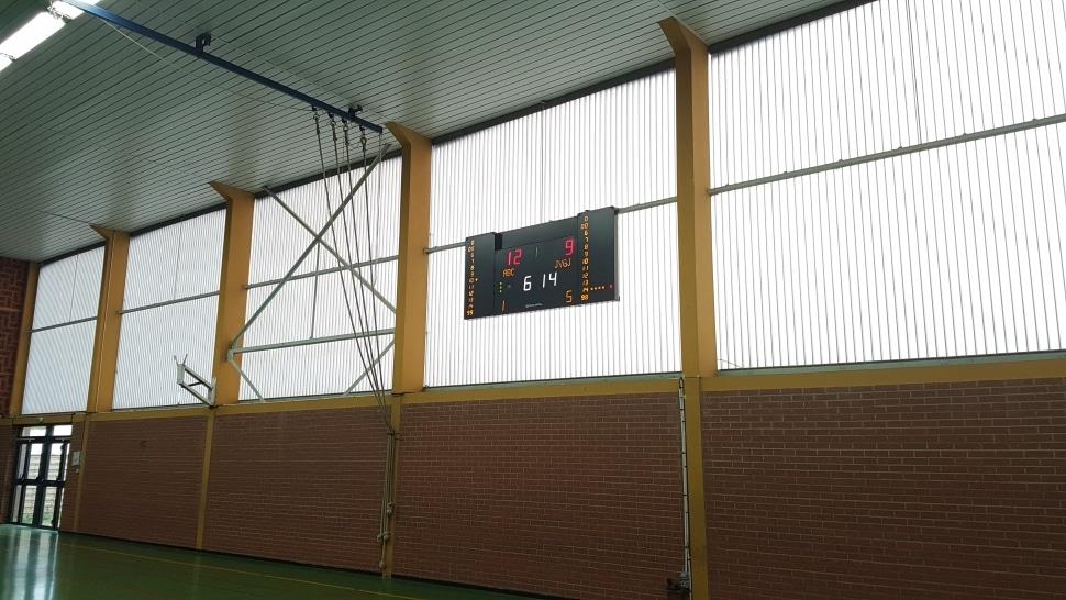 panneau affichage score et afficheur temps d attaque