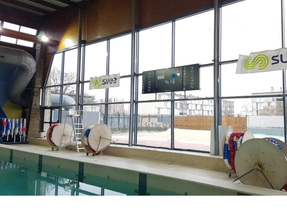 afficheur score water polo