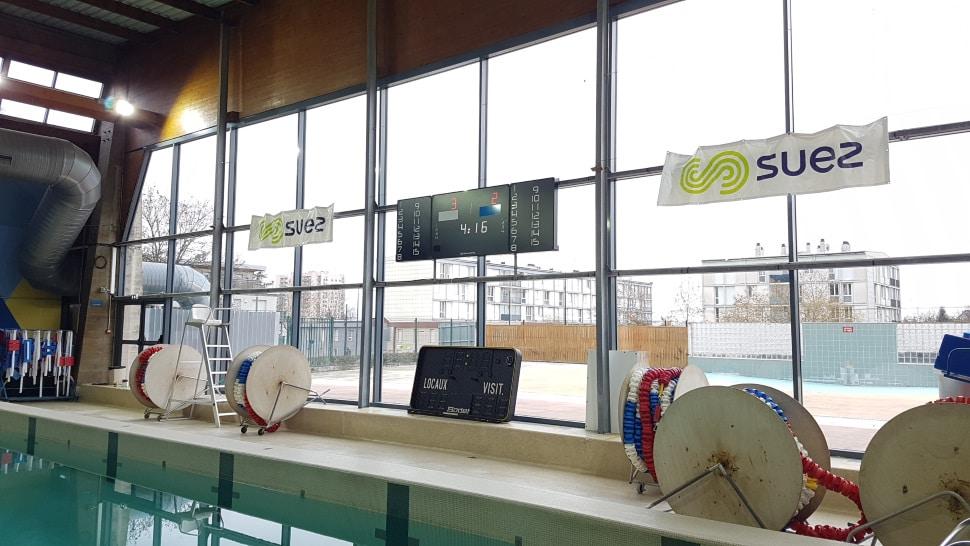 Afficheur de score piscine de Chenôve