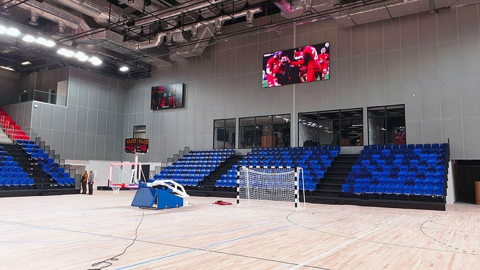 installation nouvelle arena pulawy en pologne